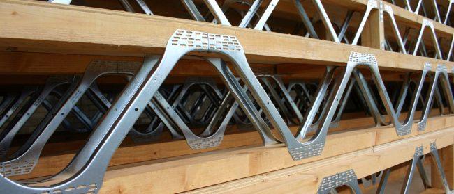 picture of posi strut floor truss system